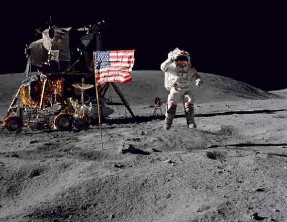 Apollo 16 Commander John You