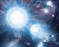 Young binary stars. Image credit: NASA