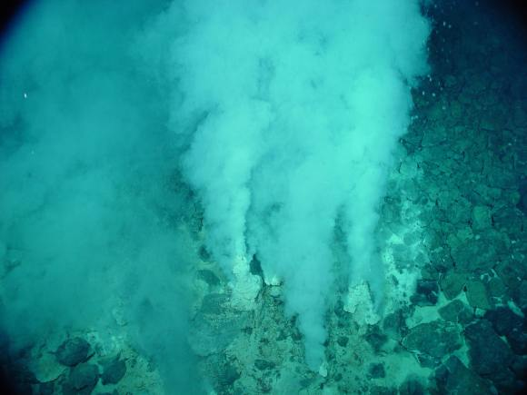 Hydrothermal vents. Credit: NOAA