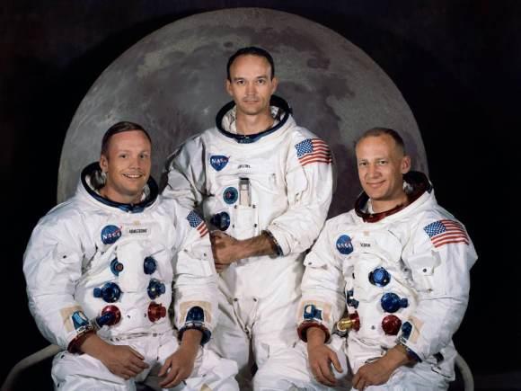 Apollo 11 Official Crew Portrait.    Official crew photo