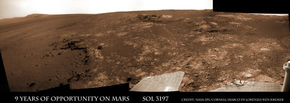 Opportunity Sol 3197E1a_Ken Kremer
