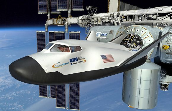 Dream Chaser from Sierra Nevada docks at ISS