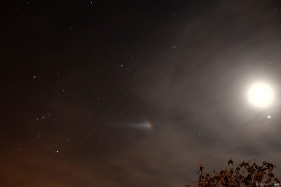 A bright Moondog on January 20, 2012 seen in Wiltshire, England. Credit and copyright: Richard Fleet. Used by permission.