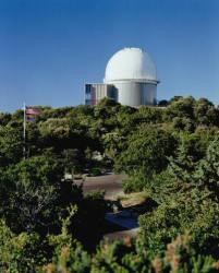Exterior of the 2.1-meter telescope of the Kitt Peak National Observatory (NOAO)
