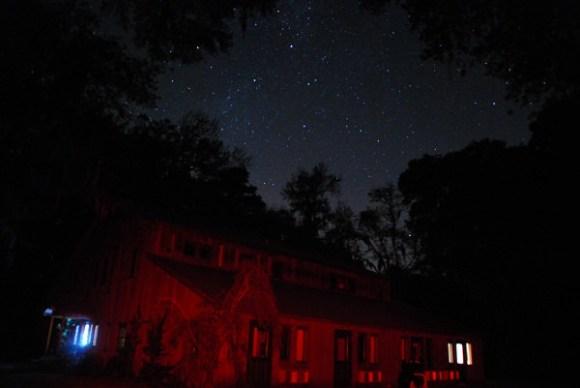 Dark Skies at Dunham Farms, Georgia (Photo by Author).