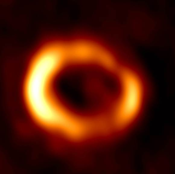 Radio image at 7 mm. Credit: ICRAR Radio image of the remnant of SN 1987A produced from observations performed with the
