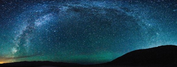 The Milky Way Over Death Valley. Image Credit: Jeff Moreau