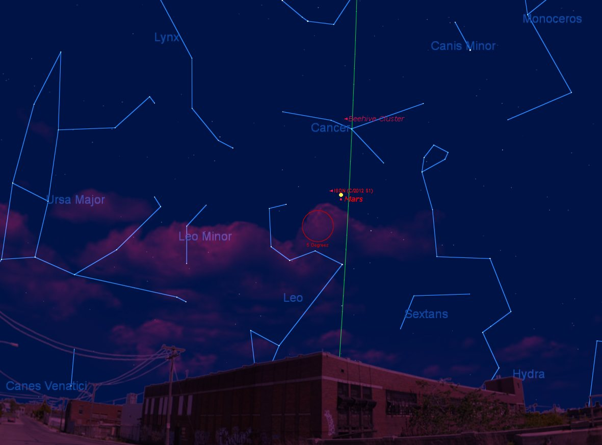How to See Mars in September 2013: The Red Planet Pierces ...