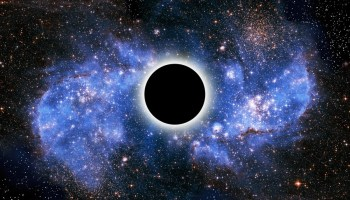 What do you think will be on the other side of a black hole?