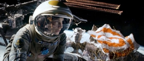 "Sandra Bullock as Ryan Stone in Warner Bros. Pictures' dramatic thriller ""Gravity,"" a Warner Bros. Pictures release. Image Credit: Courtesy of Warner Bros. Pictures"