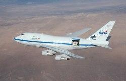 NASA's airborne SOFIA observatory (SOFIA/USRA)