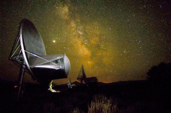 SETI's Allen Telescope Array monitor the stars for signs of intelligent life (SETI.org)