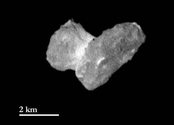 Comet 67P/Churyumov-Gerasimenko imaged by OSIRIS on July 29, 2014