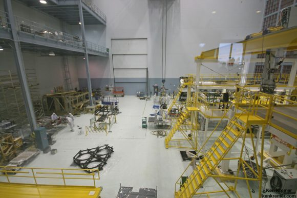 JWST is being assembled here inside the world's larg