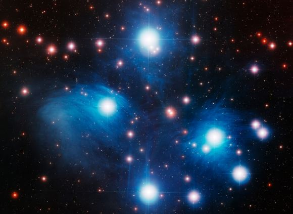 An optical image of the Pleiades. Credit: NOAO / AURA / NSF