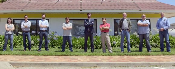 Key Personnel of the ISEE-3 Reboot Project. From left, Ca