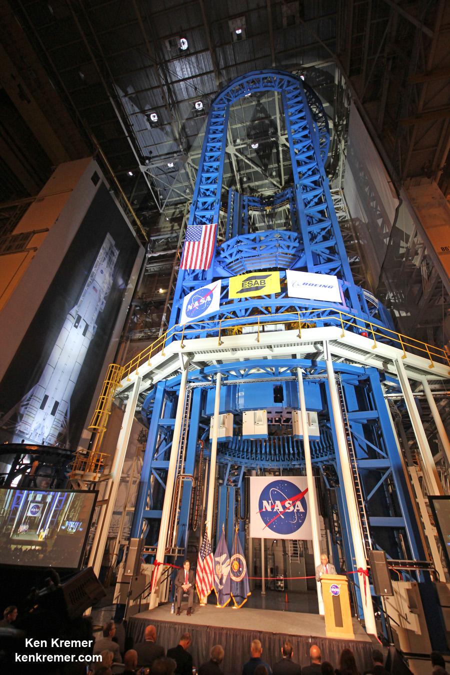 Nasa Unveils World S Largest Welder To Build World S Most