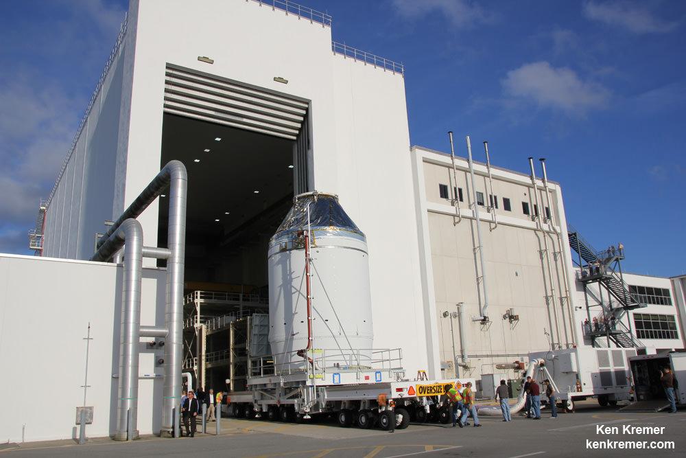 Habitation Module Nasa Nasa 39 s Orion Eft 1 Crew Module