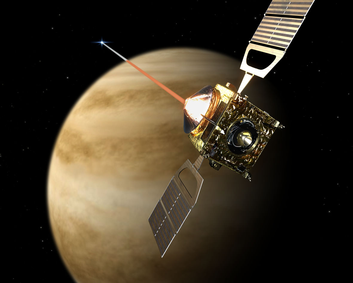 esa venus express spacecraft - photo #15