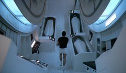 Interior of the Discovery, from 2001: A Space Odyssey. Credit; Metro-Goldwyn-Mayer