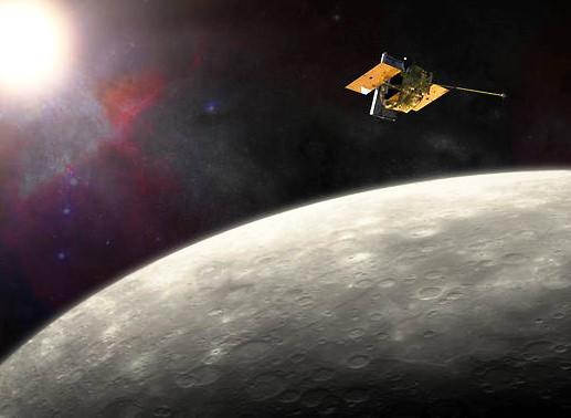 The MESSENGER spacecraft has been in orbit around Mercury since March 2011. Image Credit: NASA/JHU APL/Carnegie Institution of Washington