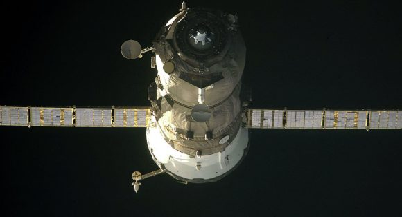 File photo of a Russian Progress cargo freighter. Credit: Roscosmos