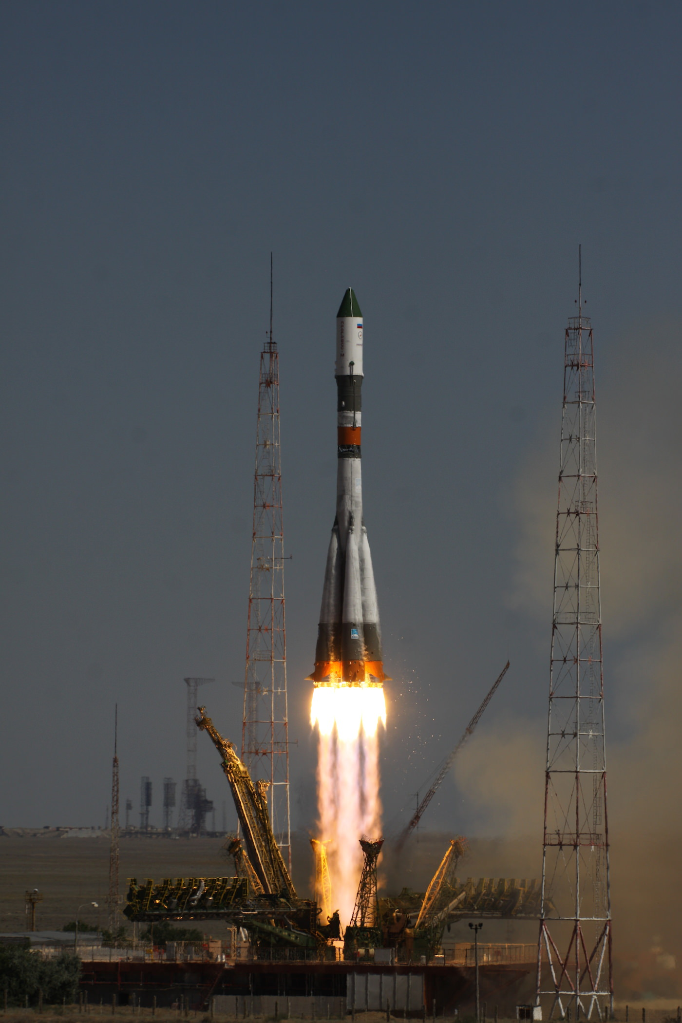 Blastoff of the Russian Progress 60 resupply ship to the ISS from the Baikonur Cosmodrome on July 3, 2015. Credit: Roscosmos