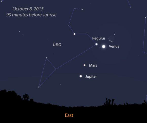 Lune et Venus au petit matin du 10/12/2012 Conj-Oct8_edited-1
