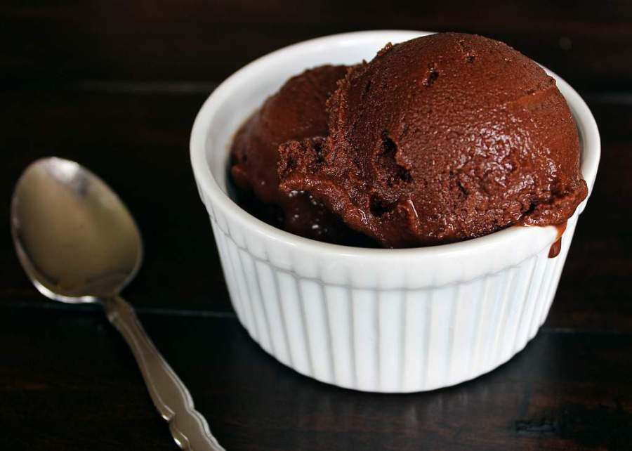Rich Chocolate Sorbet (University Foodie)