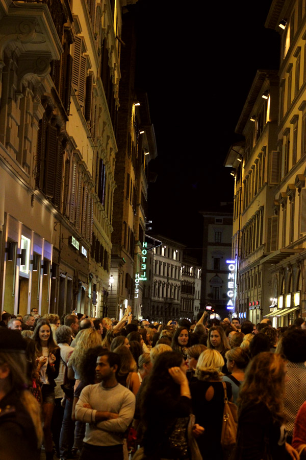 Vogue Fashion's Night Out (Florence 2013) | universityfoodie.com