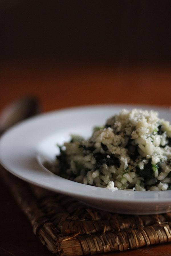 Spinach Risotto Recipe | universityfoodie.com