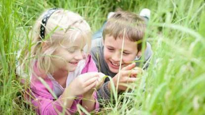 bambini nella natura