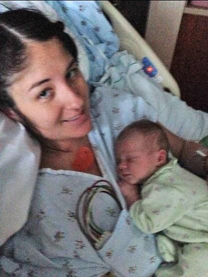 mamma tiene neonata
