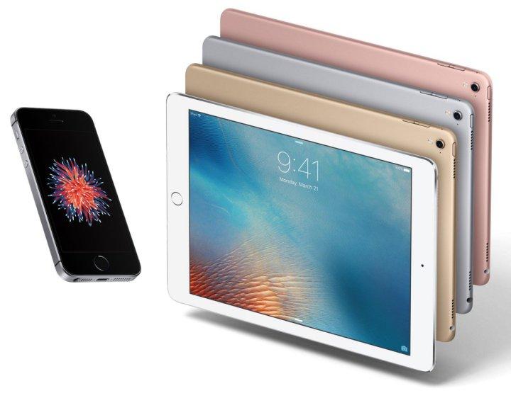 9.7-inch-iPad-Pro-iPhone-Se-pre-orders