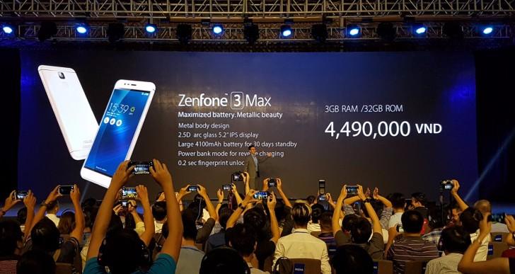 Asus تعلن رسمياً عن هواتف Zenfone 3 Laser وZenfone 3 Max