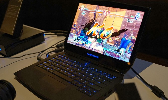 Dell Alienware 13- OLED display