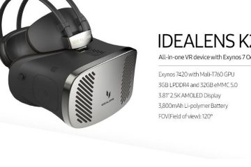 Idealens standalone VR