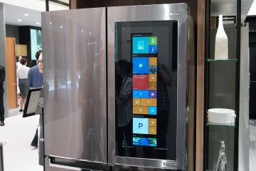 LG- InstaView Door-in-Door fridge
