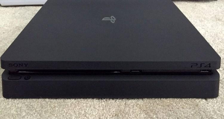 PS4 Slim-leak