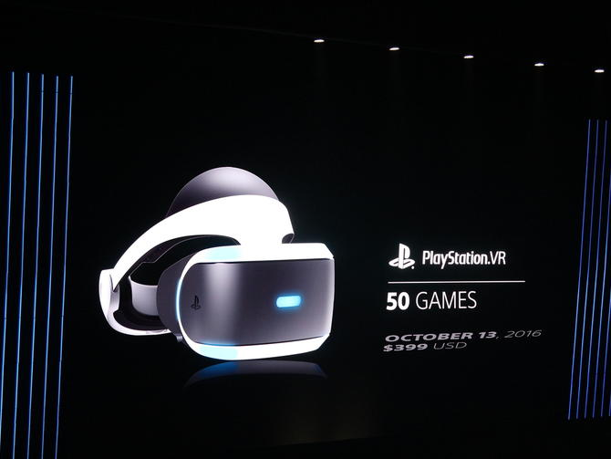 PlayStation VR-50 games