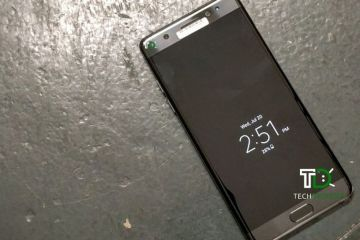 Samsung Galaxy Note 7 black