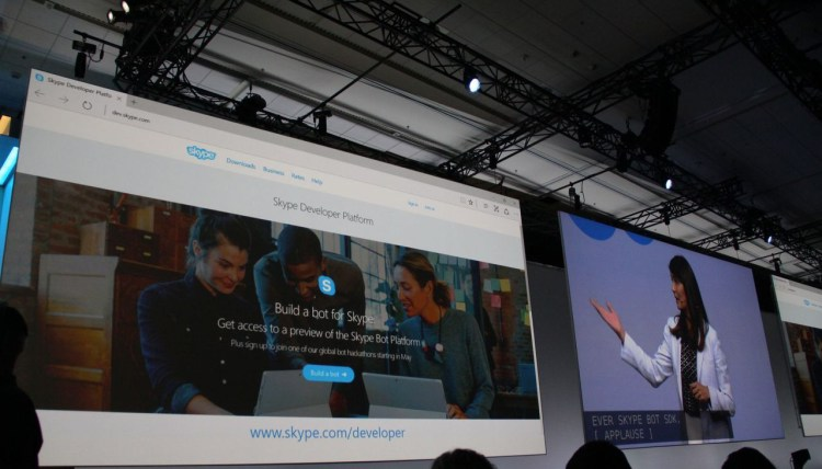 Skype - Cortana- bot