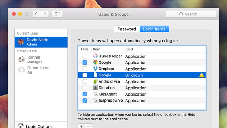Stop-programs-launching automatically-Mac