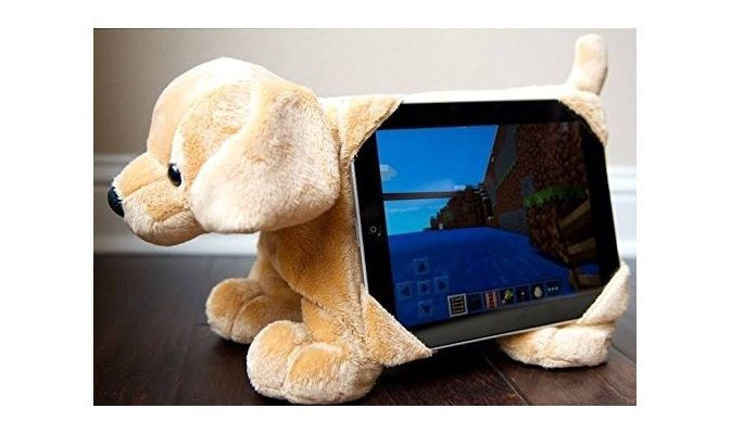Tabbeez Stuffed Animal Tablet Stand
