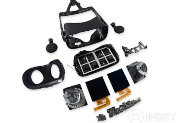 Teardown of Oculus Rift