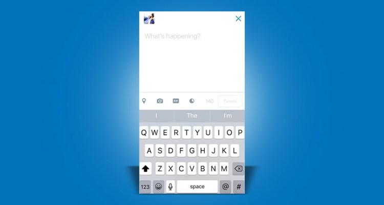 Twitter- GIF button