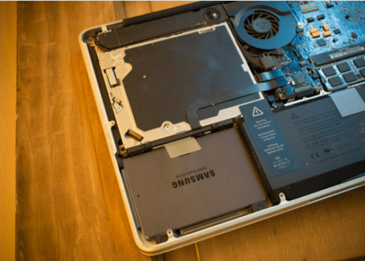 Upgrade your MacBook to an SSD 1