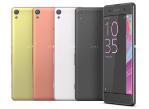 شركة سوني تصدر هواتف Xperia X وXperia XA في الهند