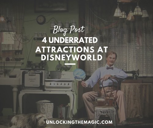 4 underrated attractions disneyworld