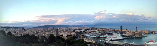Barcelona desde Montjuic